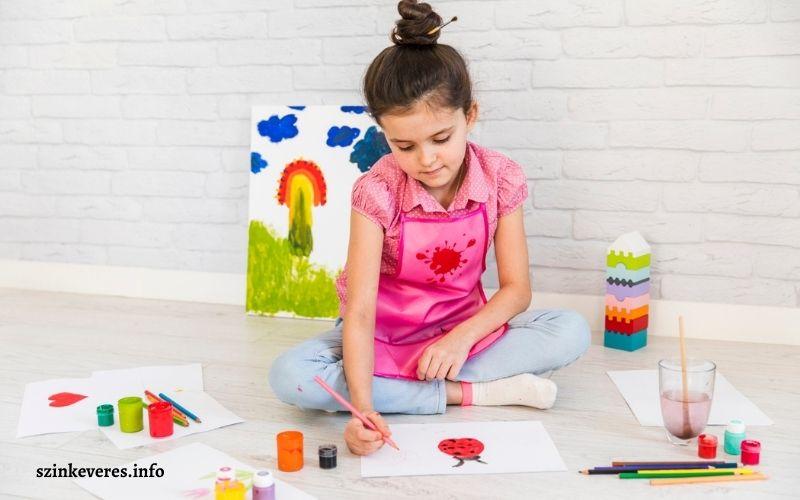 A finommotorika fejlesztése festéssel, rajzolással óvodáskorban
