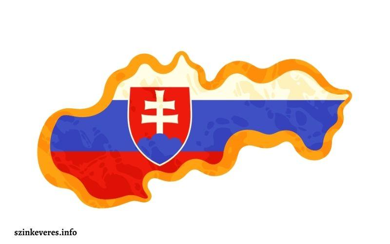 Szlovák zászló színei